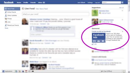 anunicio Facebook Ads