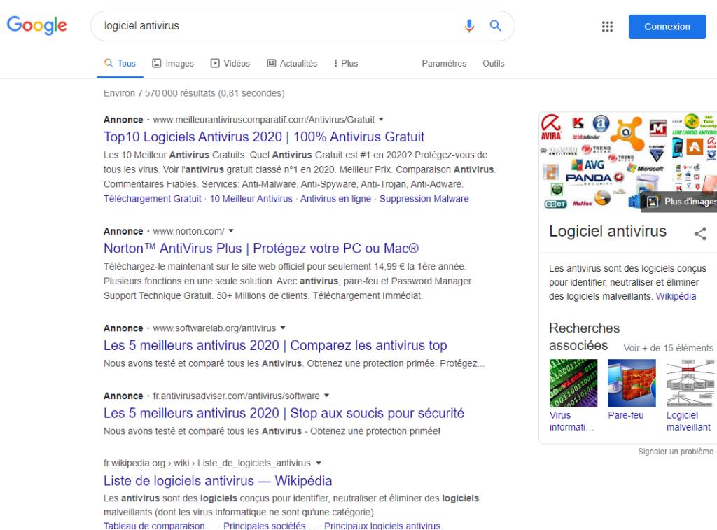 Exemple - Qu'est-ce qu'une annonce textuelle Google Ads